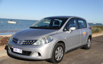 Rent Nissan Tiida